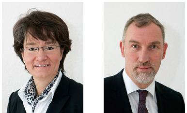 Christiane Brandes und Hans- Jürgen Kautz vom InnovationsTeam